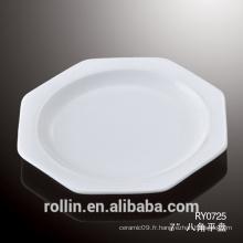 Porcelaine Céramique Type et Plats et Assiettes Vaisselle Type Sublimation Plaque en céramique