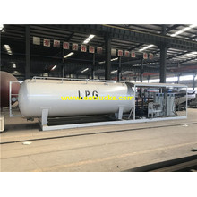 25000 لتر 10ton Mobile LPG Skid Plants