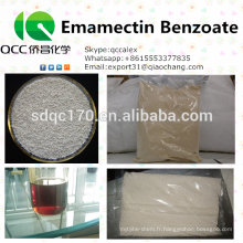 Produits agrochimiques / insecticides de qualité supérieure Emamectin Benzoate 70% TC 5% WDG, WSG 2% CE CAS 155569-91-8