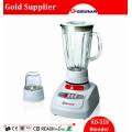 Gungdong 1400ml Glas-Glas-elektrischer Nahrungsmittelmixer Kd318