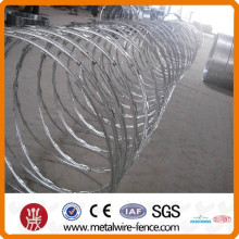 low price concertina razor barbed wire China supplier
