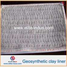 Camada da argila de Gcl dos produtos de Geo com o geotêxtil não tecido e tecido
