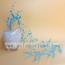 Elegant Acrylic Blue Round Beads Garland Tree Branch