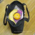 Imperméable à l'eau à l'intérieur des femmes portatif oxford fourre-tout avec fermeture à glissière