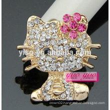 cutie fashionable hot sale animal rhinestone brooch pin
