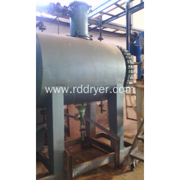 Rake Vacuum Dryer Machine for Heat Sensitive Materials