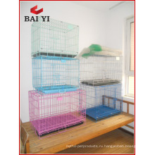 Плита ABS комфортно вне складывая собака клетка несет