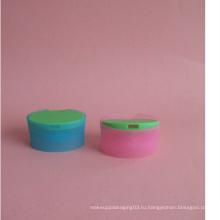 Двухцветные плоские флип-кепки