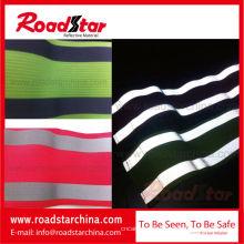 Bunte elastische reflektierende Sicherheit Armband