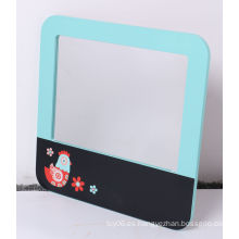 Tablón de mensajes de madera con espejo para niños juguetes educativos