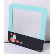 Tableau de message en bois avec miroir pour enfants Jouets éducatifs