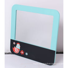 Wooden Message Board with Mirror for Kids Education Toys
