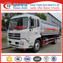 China supplier DFAC mobile fuel tanker truck capacity