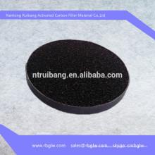 fabricación de producto industrial carbón activo filtro de aire materia prima