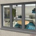 janelas de caixilho de alumínio janelas de caixilho de vidro duplo janelas de alumínio retratos janela de alumínio e porta