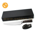 Japanese knife wholesale high carbon stainless steel chef knife with sharpener
