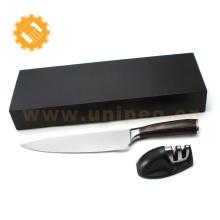 Set de couteaux de cuisine haut de gamme en acier damas japonais