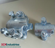 Interlock hose clamp/ 2or 4 bolts hose clamp