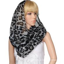 Neuer Mode-Frauen-Kreis-Leopard-Schal