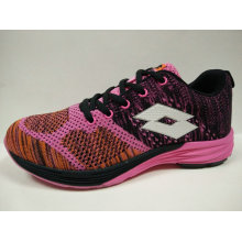 Brand Shoes 5 Colors Air Breathable Lace up Knit Footwear