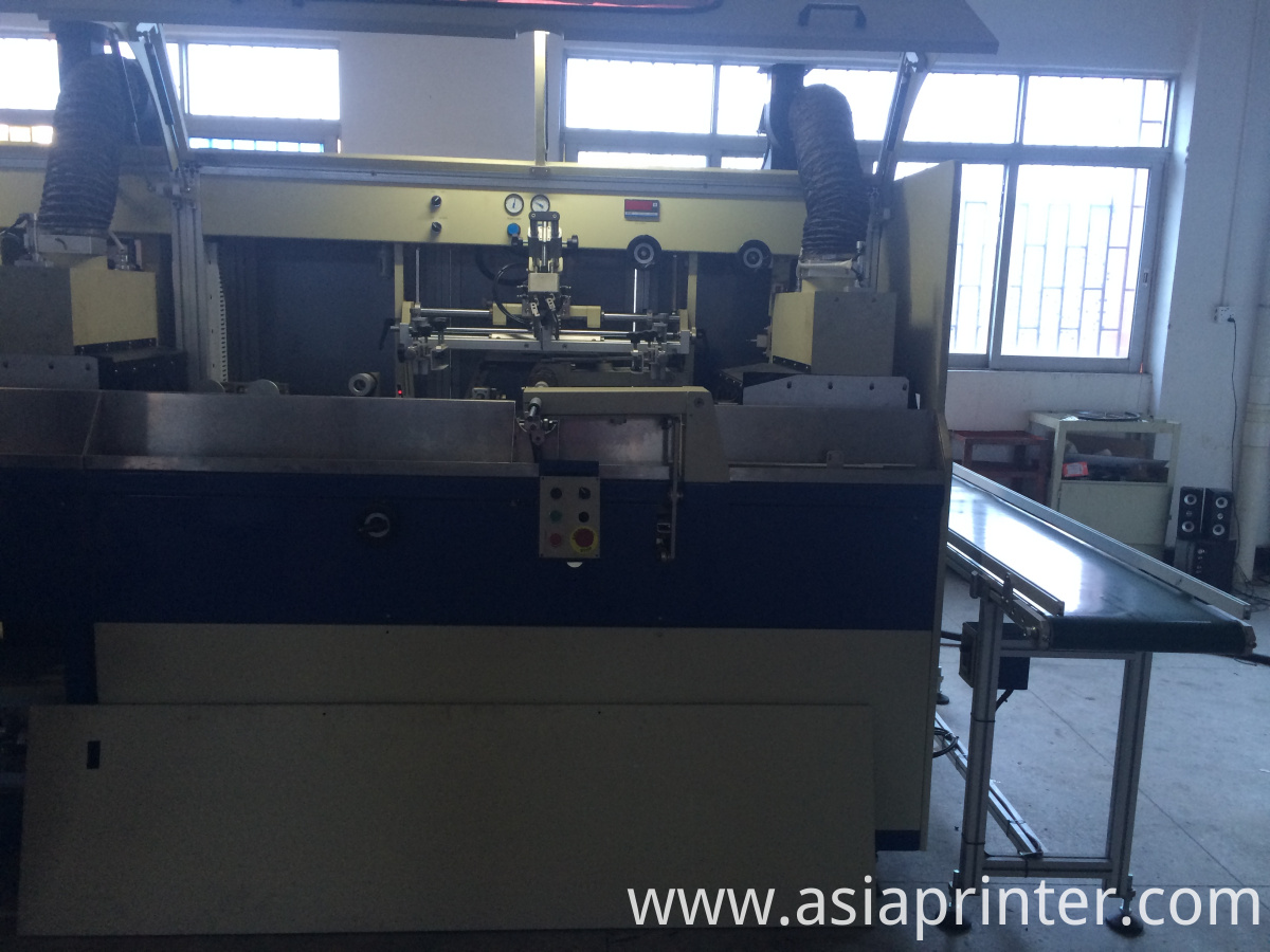 automatic bottles screen printer