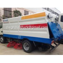 Caminhão de vassoura de estrada de vácuo Dongfeng Tianjin