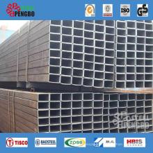 Tuyau d'acier carré soudé par construction