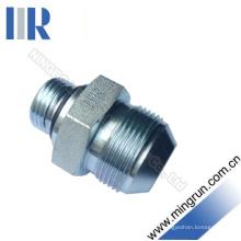 Mamelon hydraulique d'adaptateur de joint torique mâle / SAE métrique (1QO)