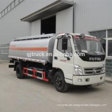 nuevo diseño caliente de la venta 2017 foton camión cisterna de combustible