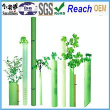Protetores de árvores de plástico corrugado de PP / Protetores de árvores ao ar livre / Abrigos de árvores de plantas