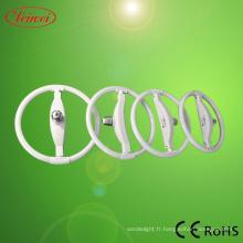 Lampe économiseuse d'énergie de forme circulaire