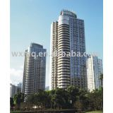Curtain Wall for Wealth Sea View Residential Quarter Shanghai