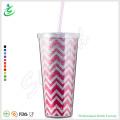 24oz Premium Shiny Plastic Tumbler with Glitter (TB-A1-5)