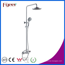 Fyeer Temperature Sensitive Bath Faucet Mixer Thermostatic Shower Set