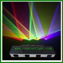 Giai đoạn 2015 Rgby Laser chiếu sáng bốn đầu ánh sáng Laser
