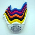 El reloj análogo del silicón de los relojes del silicón de la venta caliente colorido