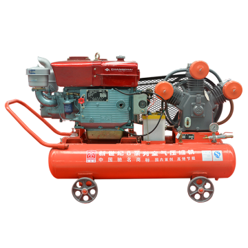 Diesel+mining+piston+air+compressor+with+Changcai+ZS115M