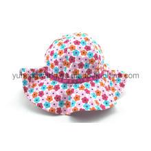 Casquillo / sombrero hermosos del cubo de los niños