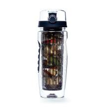Las nuevas llegadas venta caliente BPA liberan la botella de agua plástica de la fruta del regalo del día de tarjeta del día de San Valentín