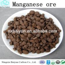 Manganèse de 3-5mm avec le prix concurrentiel pour le traitement de l'eau
