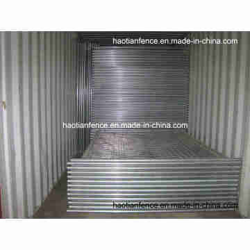 40mm Pipe Hot Dipped Galvanisiertes temporäres Zaunfeld