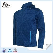 Melange 100% Polyester Men Fashion Sports Hoody
