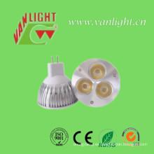 Iluminación al aire libre e interior Proyector LED MR16 con CE y RoHS