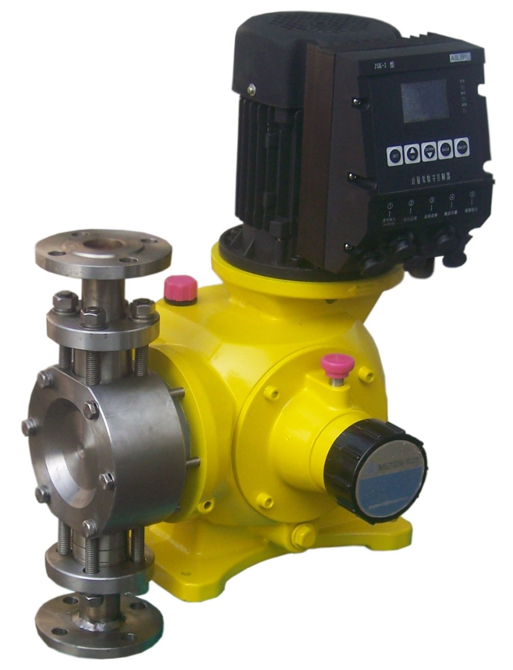 digital controllable mechanical diaphragm metering pump