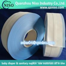 Fita lateral do lado da fita dos PP da matéria prima do bebê do fornecedor do fralda do fornecedor de China