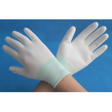 13g PU coated nylon working gloves made in china
