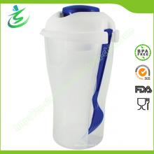 Großhandel BPA Free Plastic Salat Shaker Cup