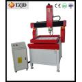 China máquina de gravura da placa de metal da máquina do router do CNC