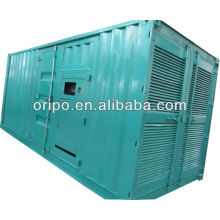 3 phase KTAA19-G5 diesel fuel saving soundproof container generator 420kw/525kva