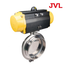 steam control manual Pneumatic sanitary butterfly valve